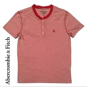 😍 ABERCROMBIE t-shirt (red & white)